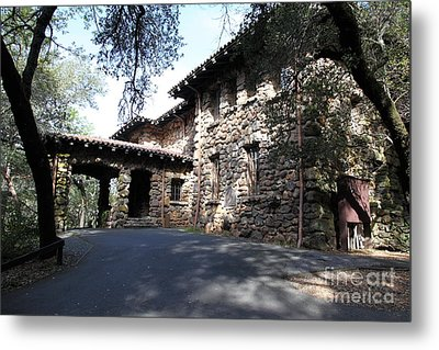 Jack London House Of Happy Walls 5d21966 Metal Print by Wingsdomain Art and Photography