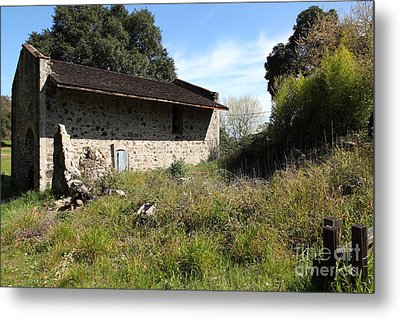 Jack London Ranch Distillery 5d22182 Metal Print by Wingsdomain Art and Photography
