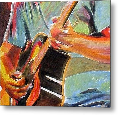 Jack Man Johnson Metal Print by Therese Fowler-Bailey