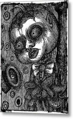 Jack O Lantern Metal Print by Akiko Okabe