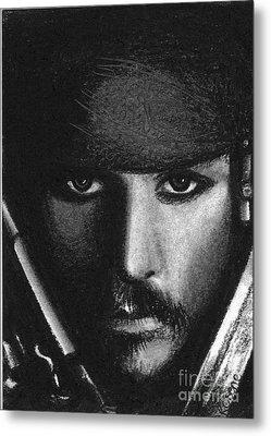 Jack Sparrow II Metal Print