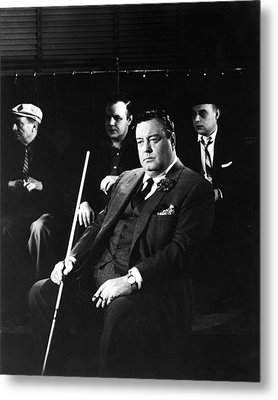Jackie Gleason In The Hustler Metal Print by Silver Screen