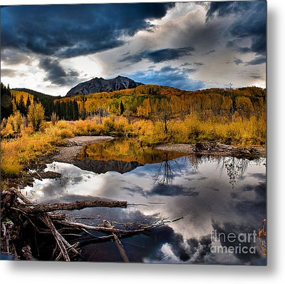 Metal Print featuring the photograph Jack's Pond by Steven Reed