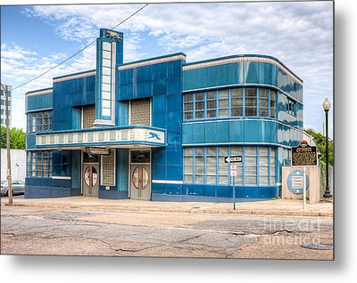 Jackson Mississippi Greyhound Bus Station I Metal Print by Clarence Holmes