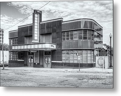 Jackson Mississippi Greyhound Bus Station II Metal Print by Clarence Holmes