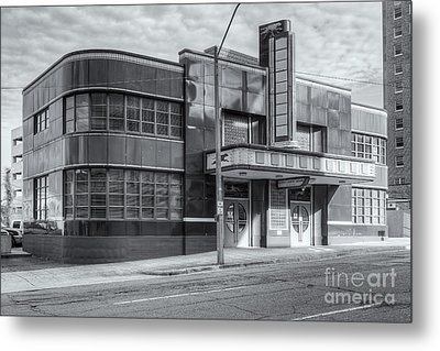 Jackson Mississippi Greyhound Bus Station Iv Metal Print by Clarence Holmes