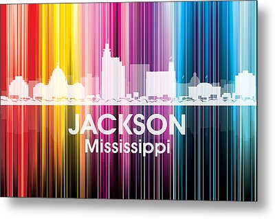 Jackson Ms 2 Metal Print by Angelina Vick