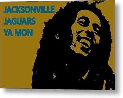 Jacksonville Jaguars Ya Mon Metal Print