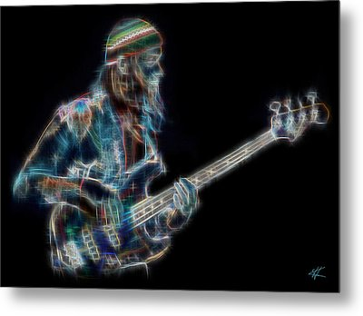 Jaco Metal Print by Kenneth Armand Johnson