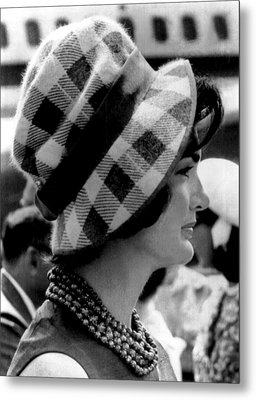 Jacqueline Kennedy Metal Print by Underwood Archives