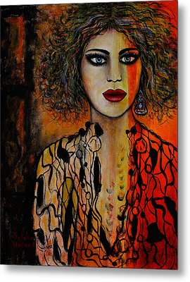 Jacquelyn Metal Print by Natalie Holland