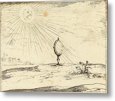 Jacques Callot French, 1592 - 1635, Rays Of The Sun Metal Print
