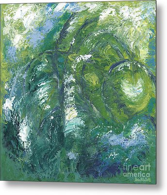 Jade Is The Color Of Your Energy Metal Print