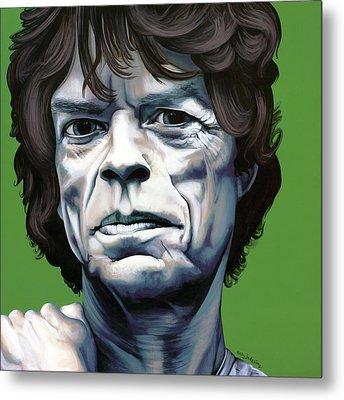 Jagger Metal Print by Kelly Jade King