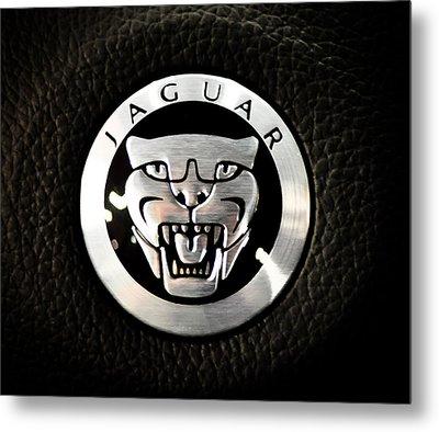 Jaguar Logo Metal Print