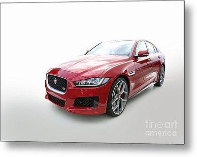 Jaguar Xe Metal Print by Roger Lighterness