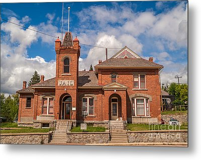 Jail Built In 1896 Metal Print by Sue Smith