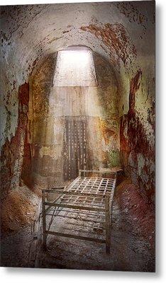 Jail - Eastern State Penitentiary - 50 Years To Life Metal Print by Mike Savad