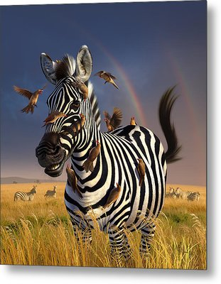 Jailbird Metal Print by Jerry LoFaro