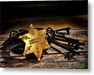 Jailer Tools Metal Print