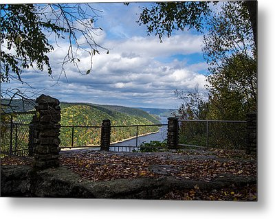 Jakes Rocks Overlook Metal Print by Anthony Thomas