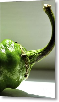Jalapeno Pepper Metal Print