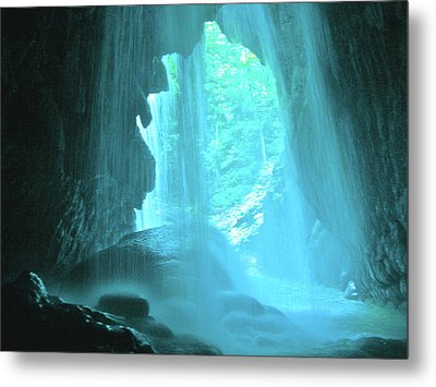 Jamaica Blue Metal Print by Carey Chen