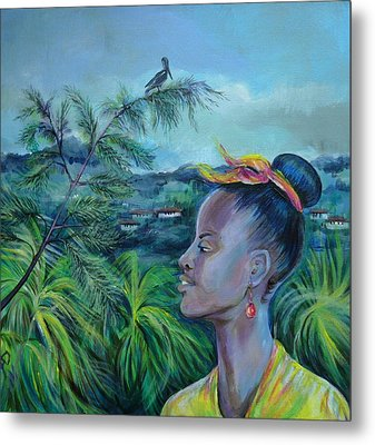 Jamaica. Part Two Metal Print by Anna  Duyunova