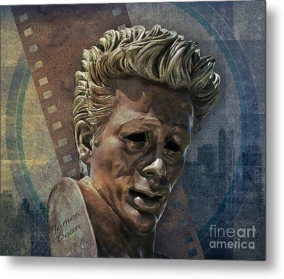 James Dean Metal Print by Bedros Awak