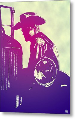 James Dean Metal Print by Giuseppe Cristiano