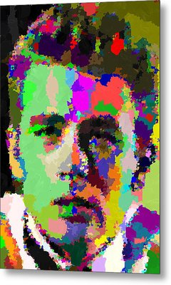 James Dean Portrait Metal Print