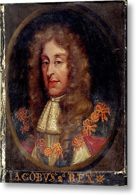 James II Metal Print by British Library