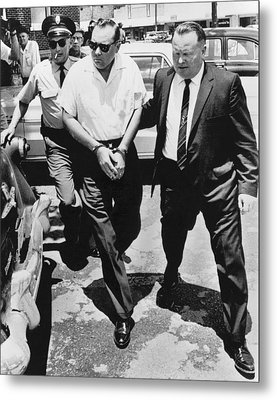 James Meredith Ambush Shooter Metal Print by Underwood Archives