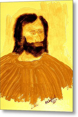 James The Apostle Son Of Zebedee 2 Metal Print by Richard W Linford