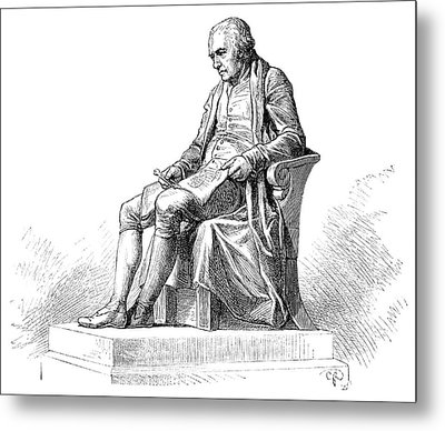 James Watt Metal Print by Science Photo Library