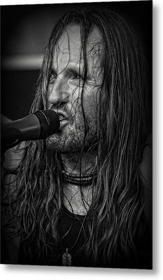 Jamesie Metal Print by Mike Martin