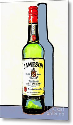 Jameson Irish Whiskey 20140916poster Metal Print by Wingsdomain Art and Photography