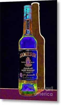 Jameson Irish Whiskey 20140916wc V2 Metal Print by Wingsdomain Art and Photography