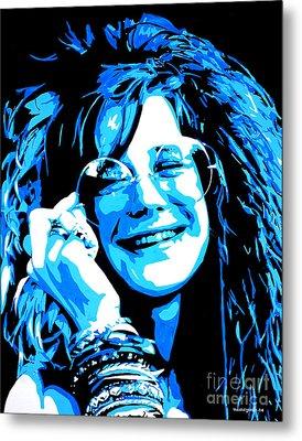 Janis Joplin. Metal Print