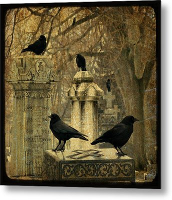 January Darkness Metal Print by Gothicrow Images
