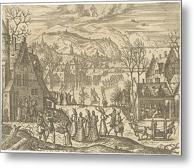 January, Pieter Van Der Borcht Metal Print