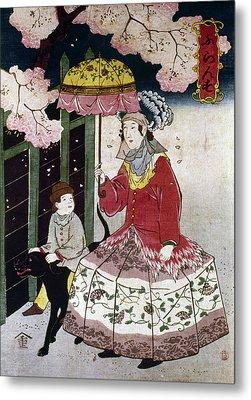 Japan Western Dress Metal Print by Granger