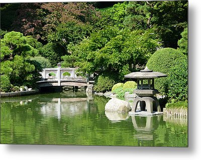Metal Print featuring the photograph Japanese Friendship Garden by Cindy McDaniel