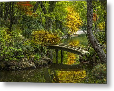 Metal Print featuring the photograph Japanese Garden by Sebastian Musial