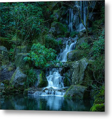 Japanese Garden Serenity 1 Metal Print