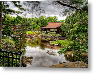 Metal Print featuring the photograph Japanese House by Robert Culver