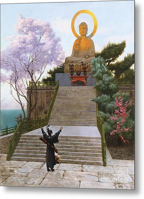 Japanese Imploring A Divinity Metal Print by Jean Leon Gerome