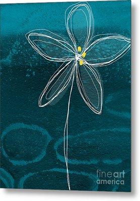 Jasmine Flower Metal Print by Linda Woods