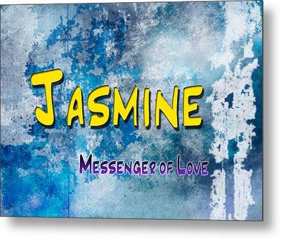 Jasmine - Messenger Of Love Metal Print by Christopher Gaston