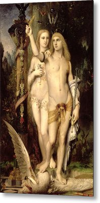 Jason And Medea Metal Print by Gustave Moreau